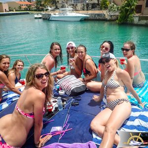 Bachelorette Party On a Yacht