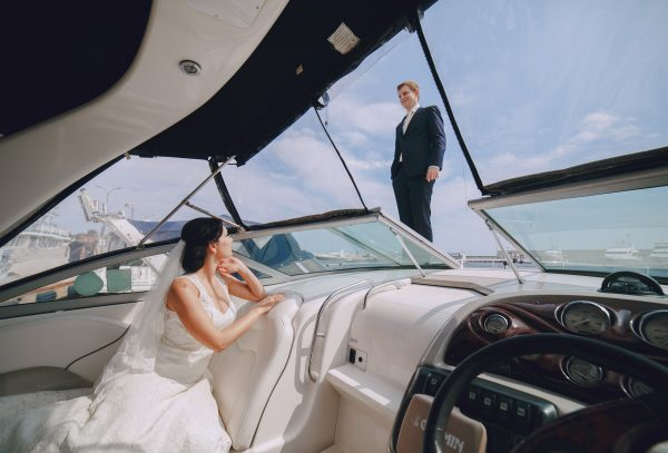 A Dream Wedding on a Luxury Yacht Charter