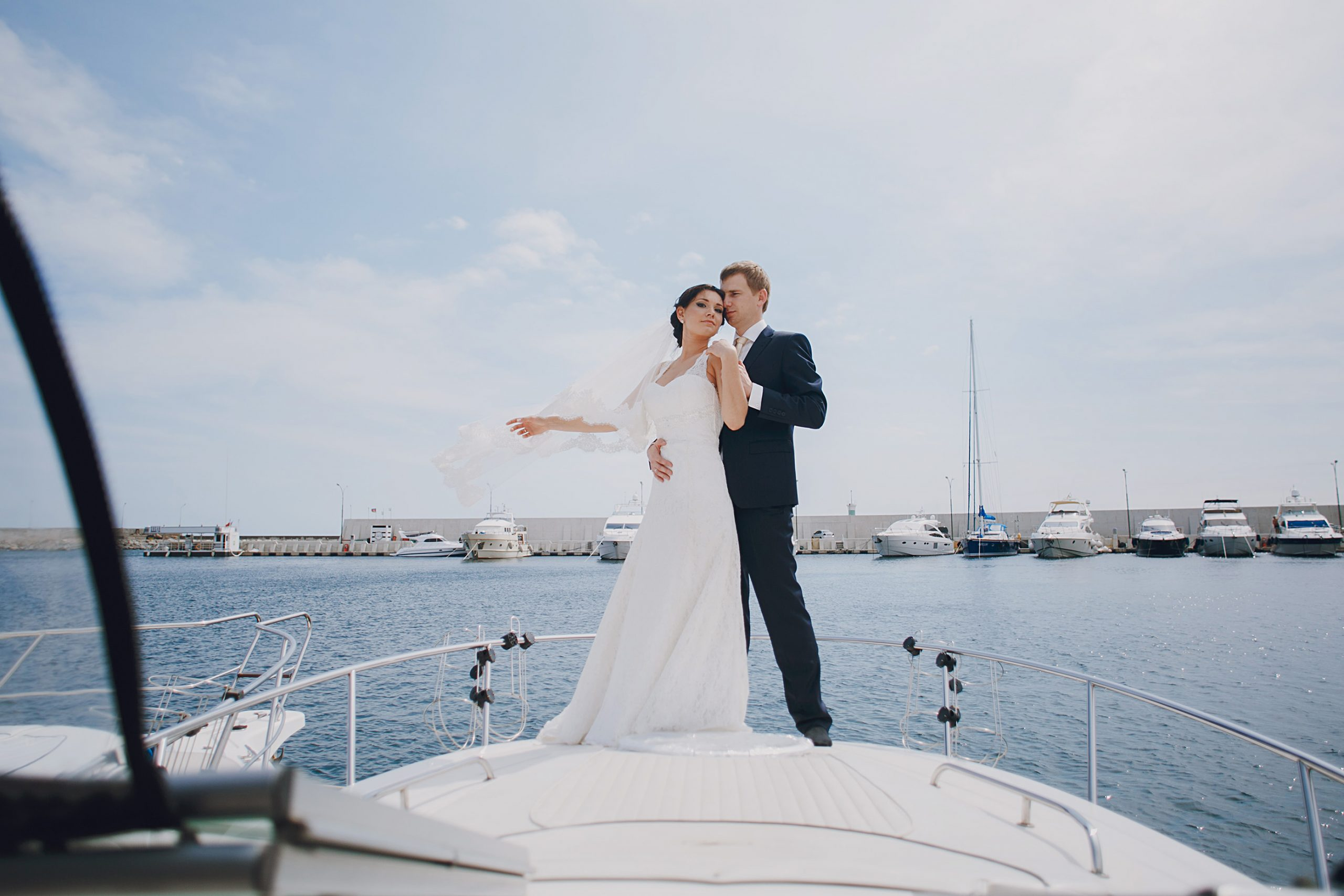 A Dream Wedding on a Luxury Yacht Charter