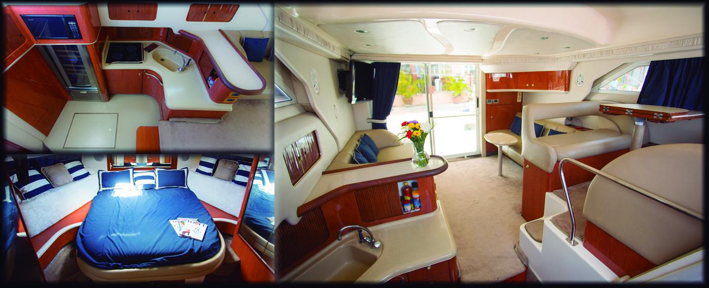 42 ft yacht