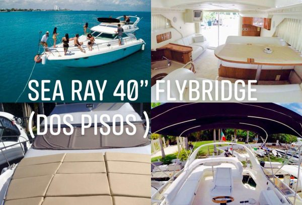 sea ray yacht cancun