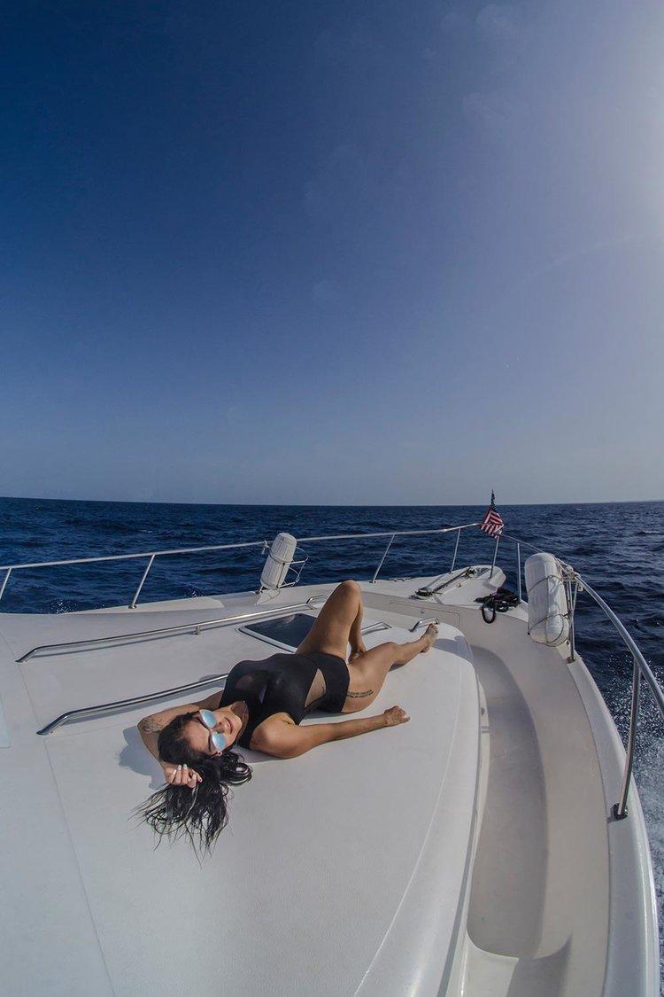 sea ray luxury yacht
