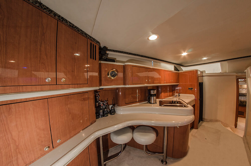 sea ray luxury yacht riviera maya